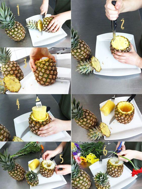 fabriquer ananas
