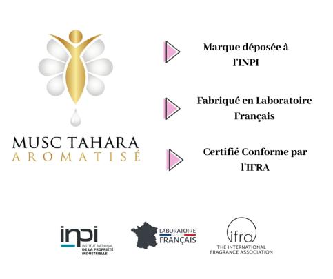 Marque déposée à l'INPI - Fabriqué en Laboratoire Français - Certifié Conforme par l'IFRA (1)