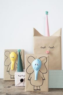 DIY - Idée créative d'emballage cadeau